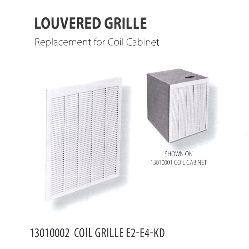 13010002 LOUVERED GRILLE
