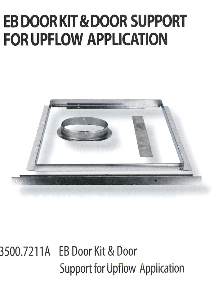 3500.7211A EB DOOR KIT & DOOR SUPPORT FOR UPFLOW APPLICATION