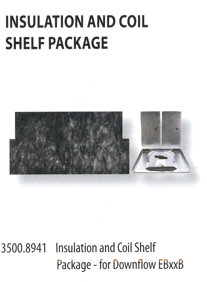 3500.8941 INSULATION AND COIL SHELF PACKAGE