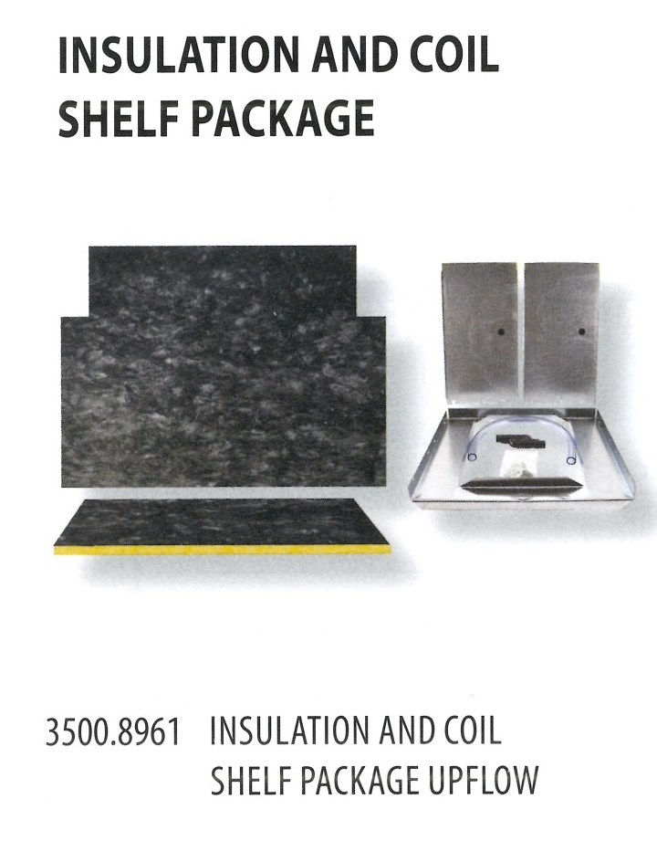 3500.8961 INSULATION AN DCOIL SHELF PACKAGE