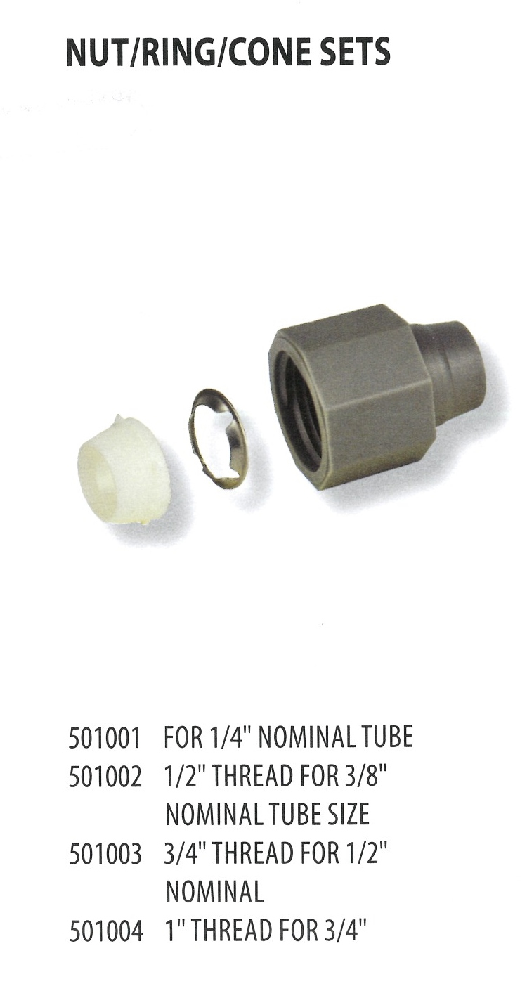 501001 501002 501003 501004 NUT RING CONE SETS