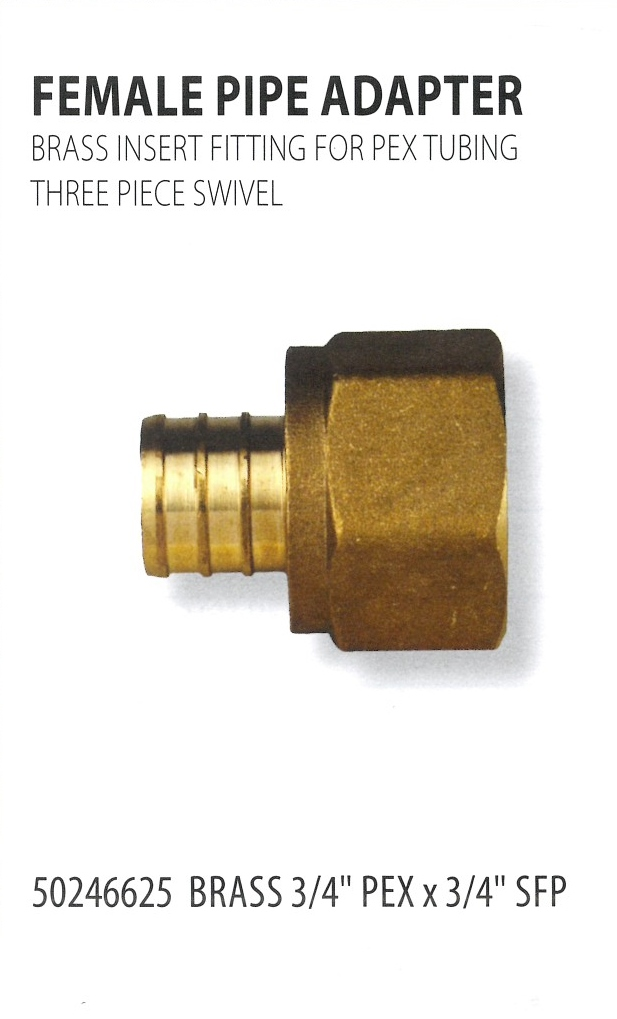 50246625 FEMALE PIPE ADAPTERS