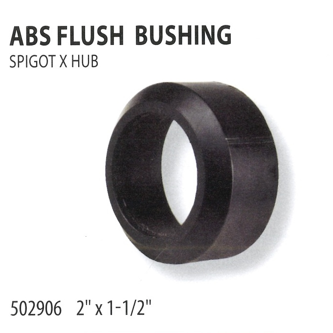 502906 ABS FLUSH BUSHING