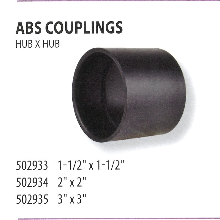 502933 502934 502935 ABS COUPLINGS