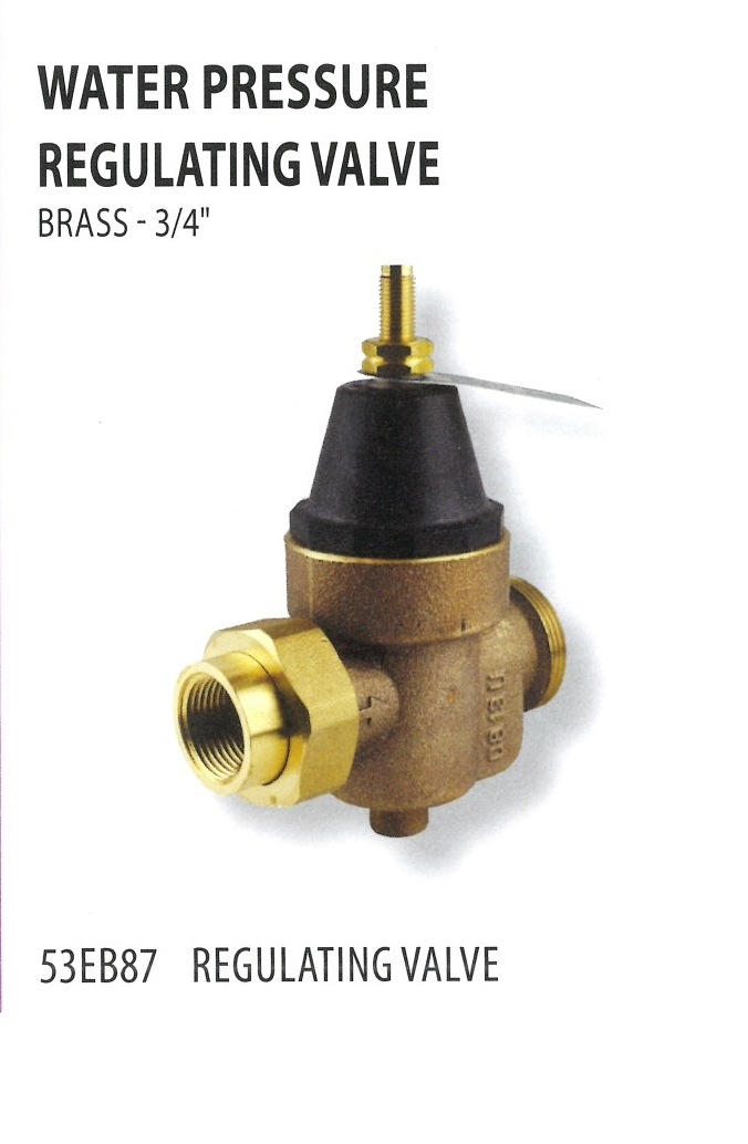 53EB87 WATER PRESSURE REGULATING VALVE