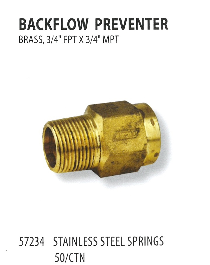 57234 BACKFLOW PREVENTER