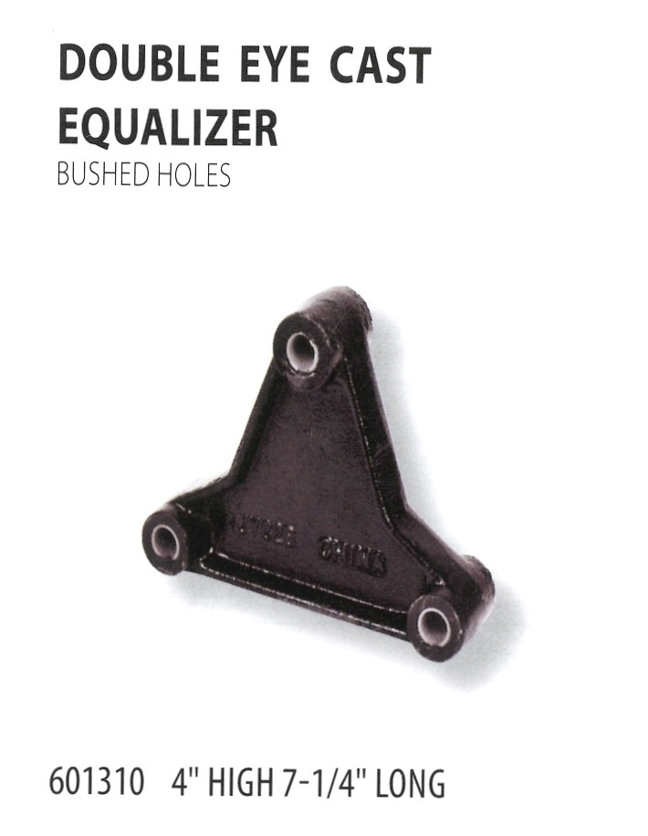 601310 DOUBLE EYE CAST EQUALIZER