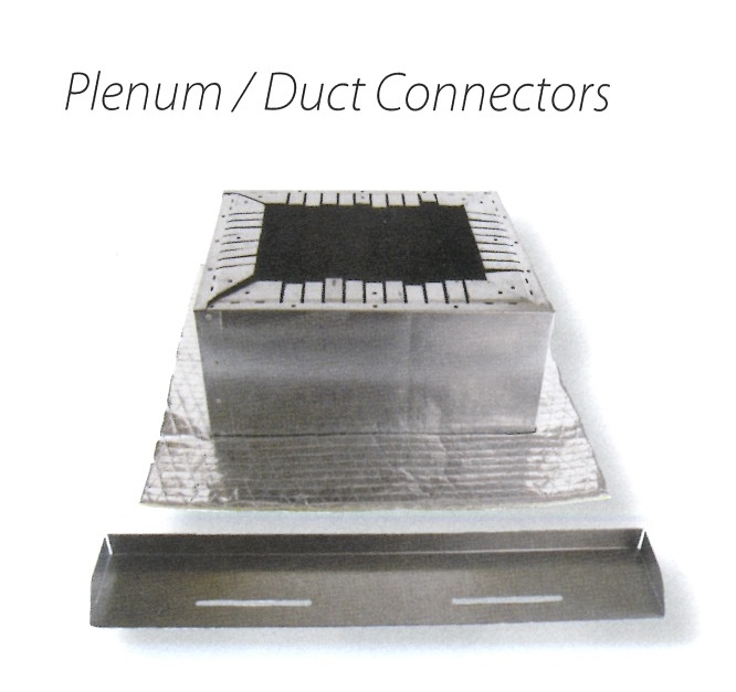 PLENUM OR DUCT CONNECTORS